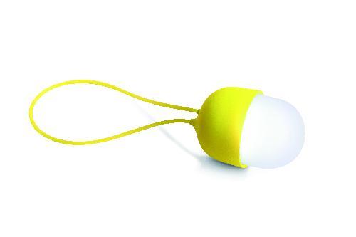 Dobíjecí svítilna CLOVER, žlutá