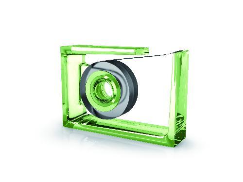 Stolní lepička ROLL-AIR, zelená