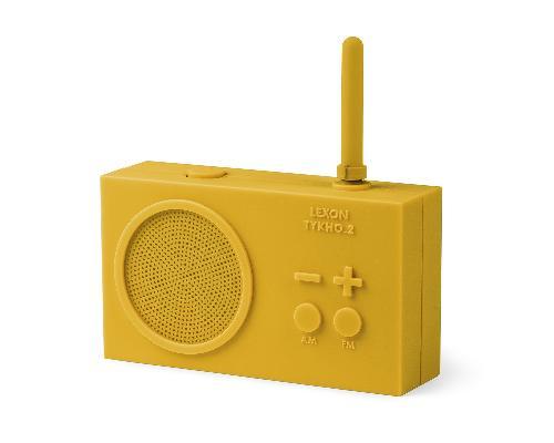Fm rádio TYKHO 2, žlutá