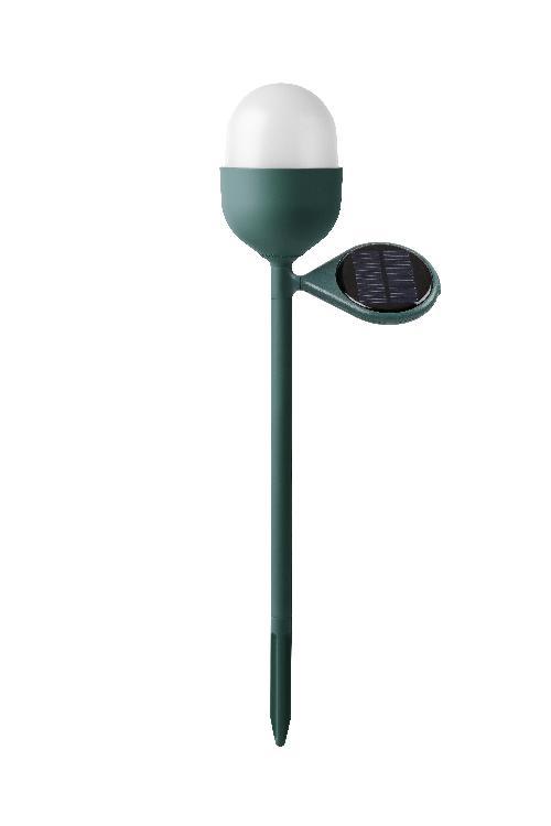 Solární lampa CLOVER GARDEN, zelená