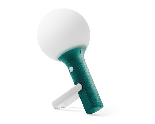 Dobíjecí LED lampa BOLLA, zelená
