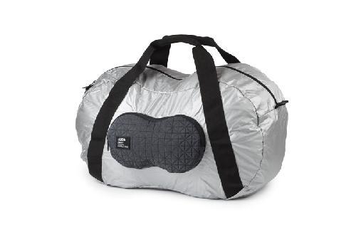 Cestovní taška PEANUT, stříbrná
