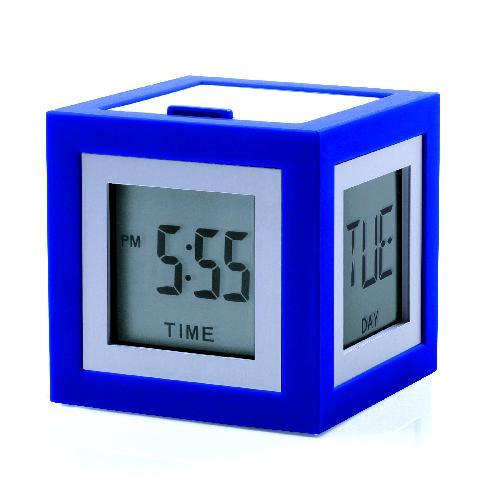LCD budík CUBISSIMO, modrá