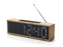 Rádio budík TITANIUM, bamboo